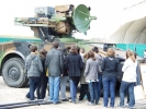 Découverte de la vie militaire par les lycéens
