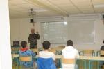 Les 3 corps d'armée ont animé une conférence d'information sur leur métier