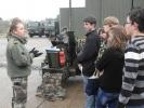 Les collégiens de 3ème visitent la base aérienne 118