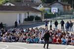 Les élèves participent au cross en faveur de l'Association Chrysalide