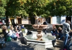 Une cinquantaine de collégiens lors d'un voyage liguistique en Espagne