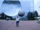 Les lycéens au Futuroscope de Poitiers