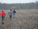 Les enfants sont allés à la rencontre des grues cendrées