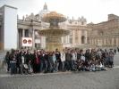 Les collègiens en Italie