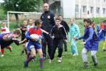 Entraînement de la Section Sportive Rugby avec Monsieur Patrice Lagisquet
