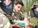 Les lycéens se mesurent au combat (paintball)