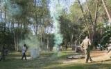 Après-midi cohésion des lycéens au paint-ball de la sablière