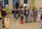 Découverte des percussions : Les maternelles