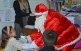 La visite du Père Noël à Sainte-Jeanne-d'Arc