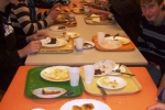 Repas de noël pour tous les lycéens
