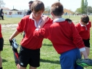 Nouvelle rencontre des benjamins de la Section Sportive Rugby et du GAS