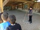 Les sixièmes visitent Séviac et le musée archéologique d'Eauze