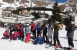 Les sixièmes de St-Jean Bosco sur les pistes de Gourette