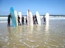 Sortie surf à Capbreton