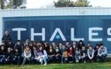 La visite de l'entreprise Thales au Haillan