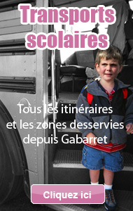 Transports scolaires, zones désservies