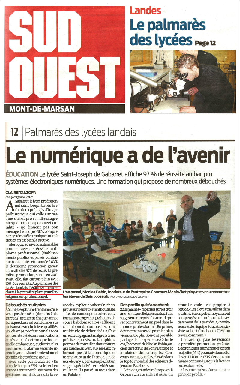 sud-ouest-palmares-lycees-2013